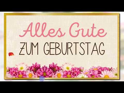 Happy Birthday (German Version)