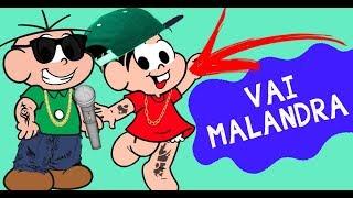 vuclip Turma da Mônica cantando Vai Malandra / Paradinha e outras de Anitta