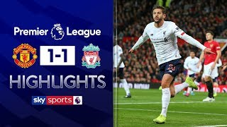 Lallana cancels out Rashford opener | Man United 1-1 Liverpool | Premier League Highlights