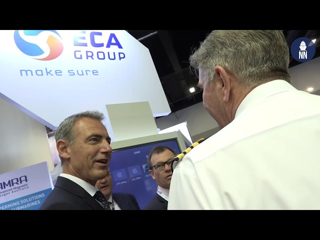 ECA Group at PACIFIC 2019: Mine Warfare & Deperming Solutions