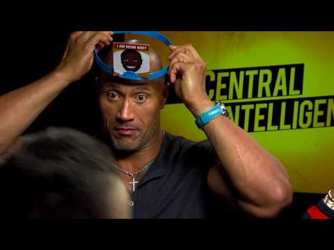 "Funny Dwayne ""The Rock"" Johnson and Kevin Hart Interview"