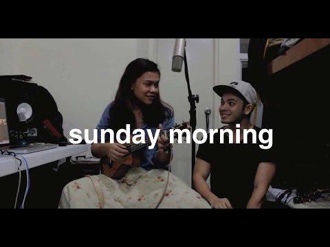 Sunday Morning - Maroon 5 (one take ukulele cover) Reneé Dominique x Dave Lamar
