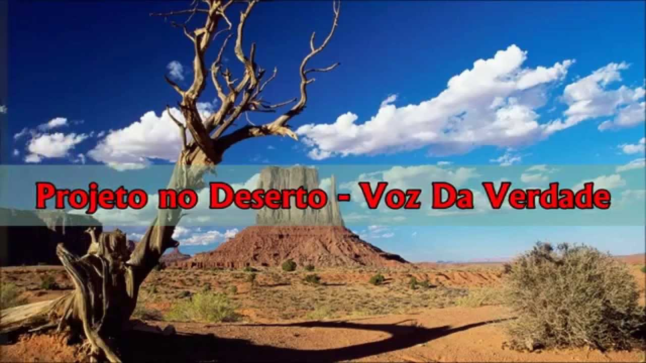 cd voz da verdade projeto no deserto play back