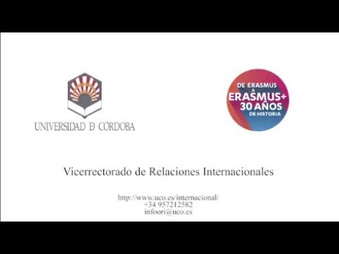 Erasmus 30th anniversary celebration in the University of Córdoba (Spain)