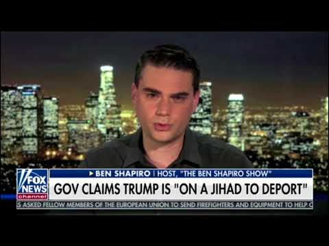 Shapiro Reacts To Trump's ALL CAPS Iran Tweet