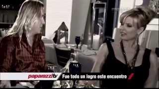 La entrevista más esperada y tensa de Sissi Fleitas y Javier Ceriani