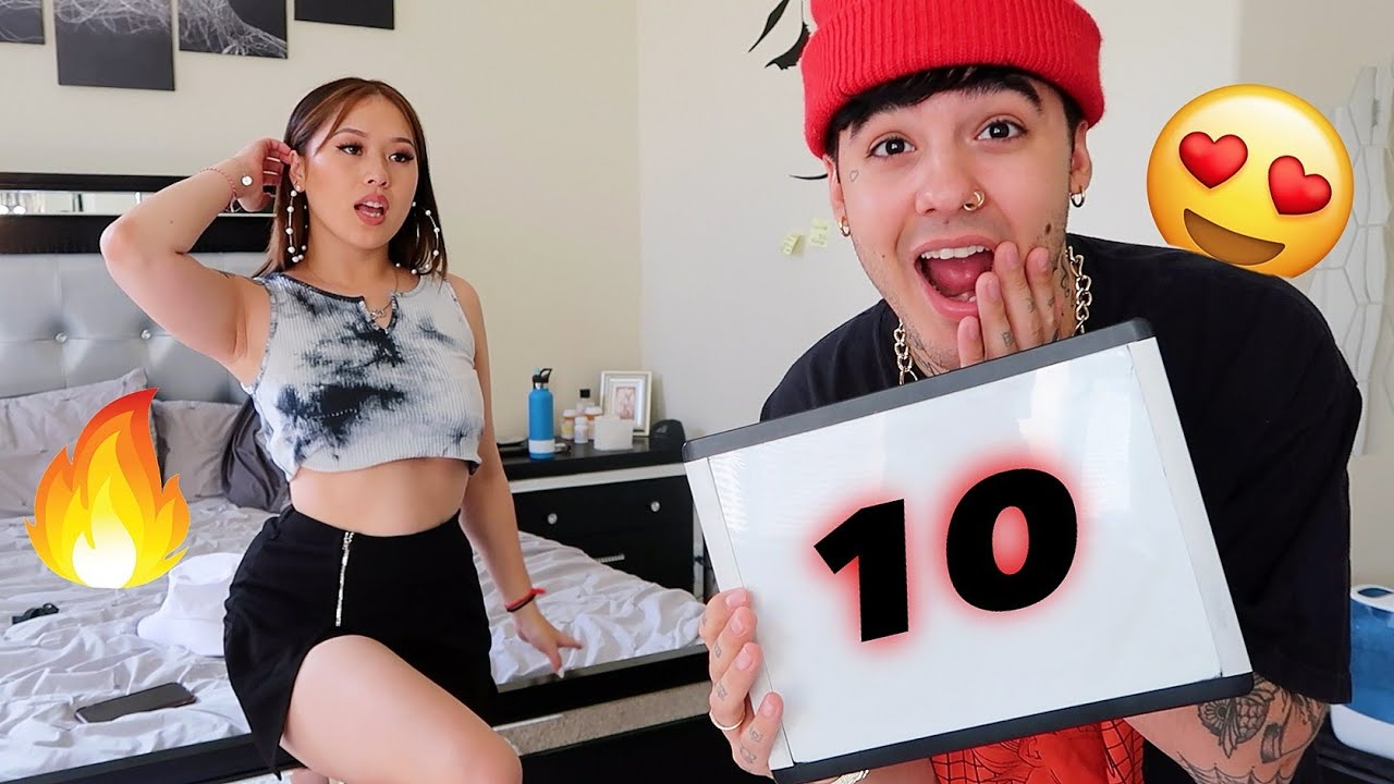 BOYFRIEND RATES MY HOTTEST OUTFITS! Again..