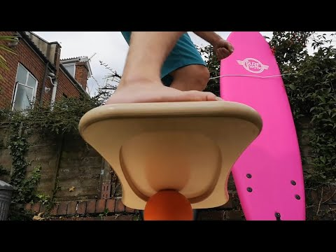 Surf training with the best balance board roller balance board v CoolBoard