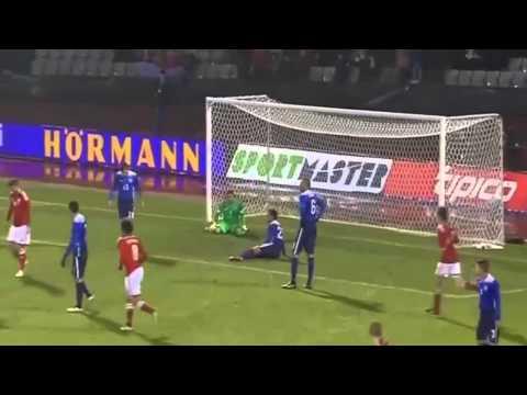 Nicklas Bendtner Scores Amazing Hat-trick (3 Goals) vs USA In A Friendly Match 2015 HD