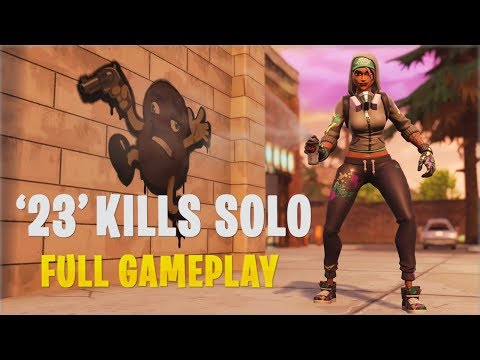 23 Kills Solo | Console - Fortnite Gameplay