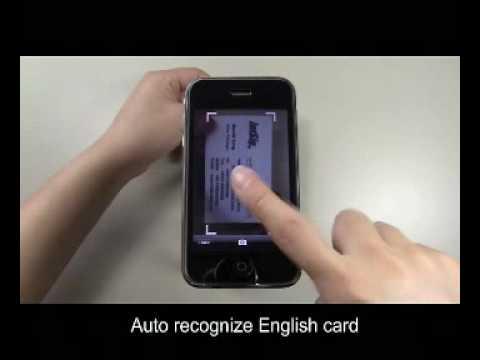 Camcard business card reader youtube colourmoves