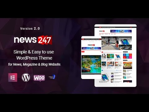 News247 WP Theme Demo Import 1