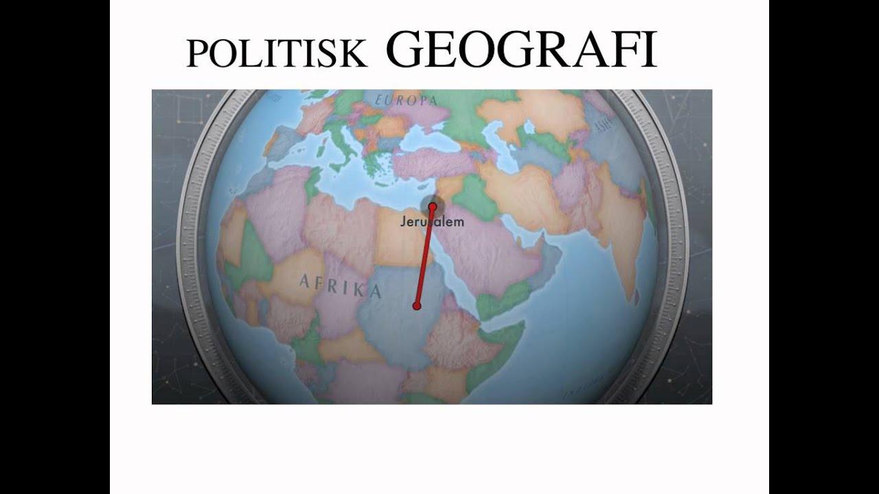Politisk geografi