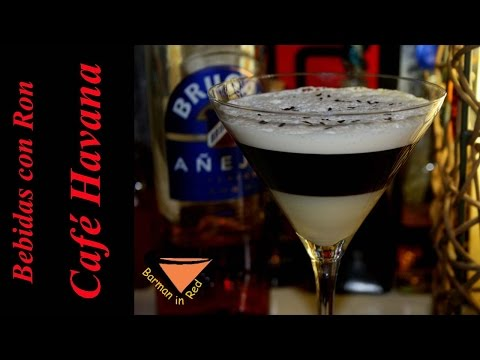 HOW TO MAKE THE RICH COFFEE COCKTAIL HAVANNA