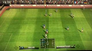 Pro Evolution Soccer 2010 GamePlay