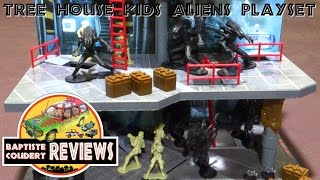 Video Review: 2004 Tree House Kids THK Alien Aliens Deluxe Playset