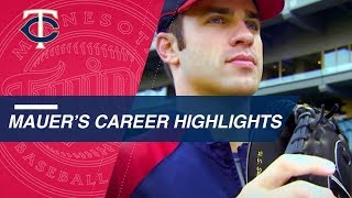 A look at Twins legend Joe Mauer