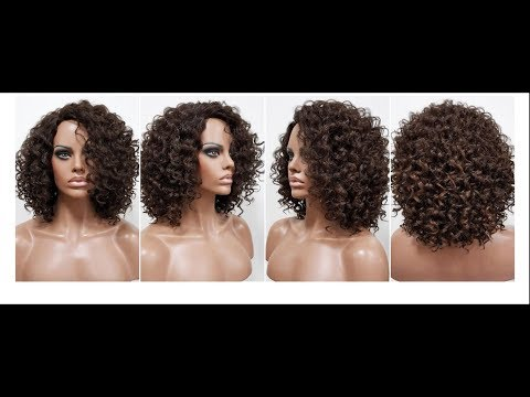 How to wash a synthetic curly wig