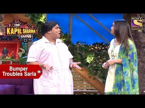 Bumper Takes Sarla's Case - The Kapil Sharma Show