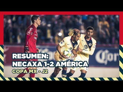 Resumen | Necaxa 1 - 2 América | Copa MX - Clausura 2019 - Copa MX - Jornada 2 | Club América