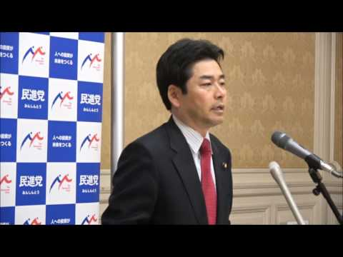 山井和則国会対策委員長定例記者会見 2017年6月6日