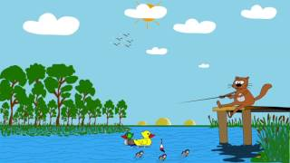 Любитель - рыболов. (стихотворение Агнии Барто)