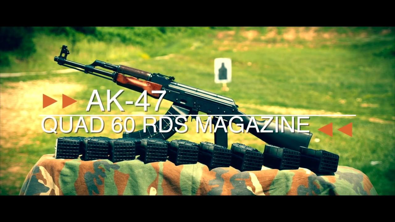AC-Unity Mfg  AK-47 7 62x39 60 round Quad Magazine · DK Firearms