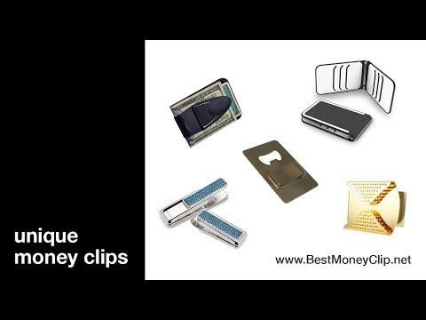 Unique money clips: 5 unusual ways to carry cash
