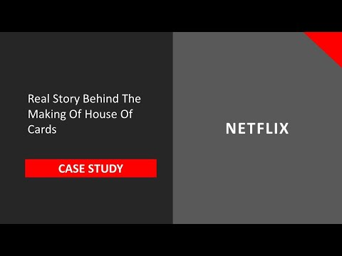 How Netflix Used Analytics in the House of Cards