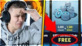 "Attention! SCAMMER Advertising before Fortnite Videos! 😱 Don't let ""Free V-Bucks"" pull you off! 💪"