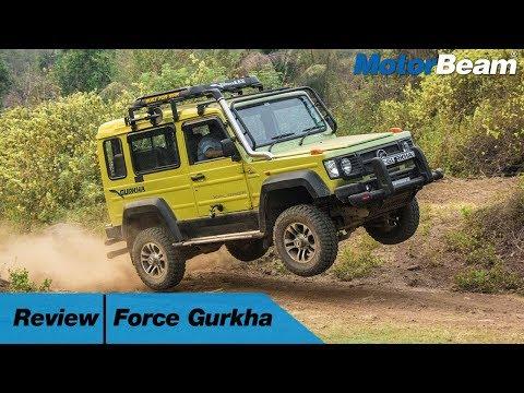 Force Gurkha Review - The Desi G-Wagon? | MotorBeam