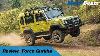 Force Gurkha Review - The Desi G-Wagon? | MotorBeam