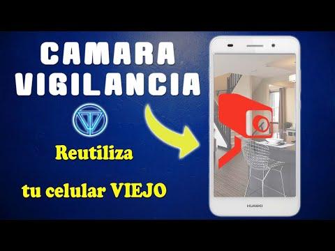 Usar un celular viejo como cámara de vigilancia