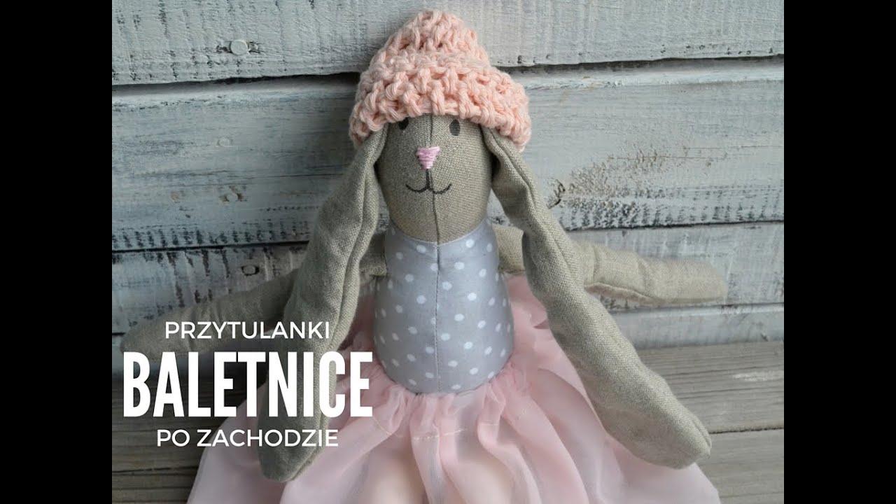 Nietypowy Okaz Ręcznie szyte maskotki przytulanki baletnice koty, misie, króliki SV47
