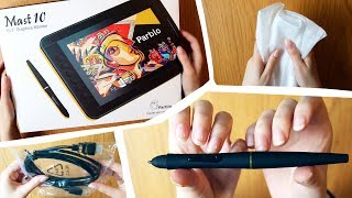 ASMR - Drawing Tablet Unboxing - Crinkle & Tapping Sounds - No Talking