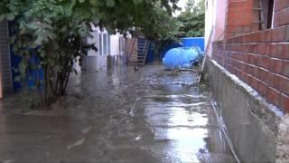 Наводнение. Новомихайловский. 22 августа 2012г.