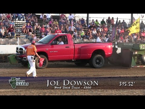 Central Illinois Truck Pullers - 2017 Four-Wheel Drive Diesel - Truck Pulls Compilation