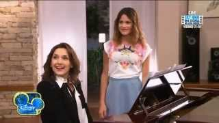 Violetta 2  Esmeralda canta 'Hoy somos más' con Violetta Capitulo 6.