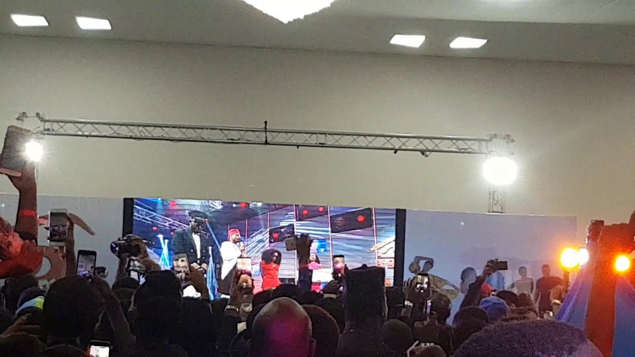 Jubilation as Miracle wins 2018 Big Brother Nigeria #BBNaija