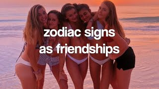 Zodiac Signs Who Are Bffs