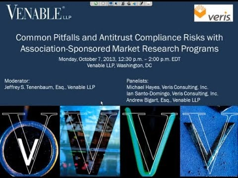 Pitfalls and Antitrust Risks with Association-Sponsored Market Research Programs - October 7, 2013