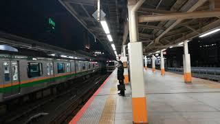 東海道線通勤快速横浜駅高速通過E231系1000番台