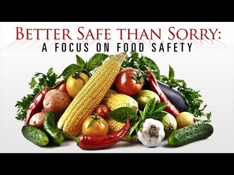 Better Safe Than Sorry: A Focus on Food