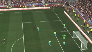 PES 2014 - Barcelona vs Español Gameplay PC