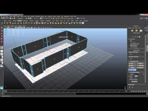 Maya tutorial modeling house