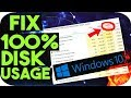 100% Percent CPU,Memory and Disk Usage Windows 7/8/10 FIX lowspecgamer Fix Game lag fps hp,dell,acer
