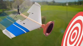 Plunger + Plane = Will it Stick?