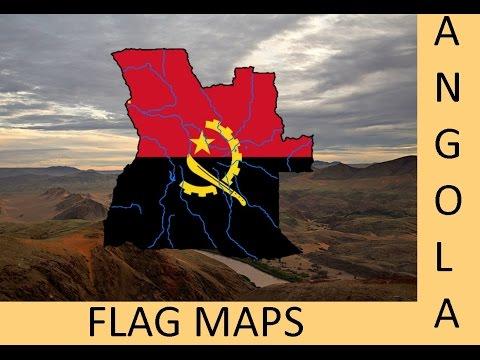 Flag Maps | Angola