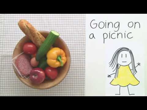video zum thema essen food auf englisch going on a picnic englisch grundschule youtube. Black Bedroom Furniture Sets. Home Design Ideas