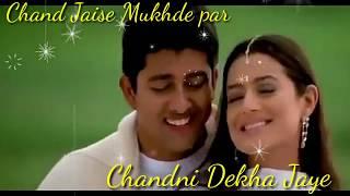 Chand Jaise Mukhde Pe Chandni bikhar Jaye HD WhatsApp status